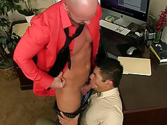 Gay naked hunks and thick gay hunk at My Gay Boss