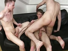 Gay porn twinks physical and severe twink male whipping at Staxus