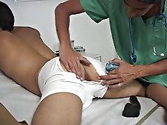 Boy or man shirtless bondage...