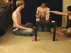""""""" This is a long episode for you voyeur types who like the idea of watching these guys get naked, drink, talk and play ribald games first gay coc"""
