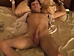 Old man cum eating by young gay