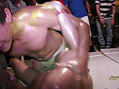 So this week we received some footage from a west coast camaraderie, i guesstimate Greco Roman wrestling is big on the west seashore these dudes had t