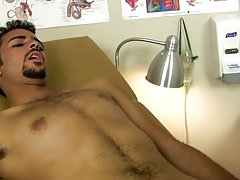 Straight boys beating off and college basketball player showing cock