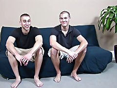 Emo sissy twink and skinny gay twink dominated by muscle man