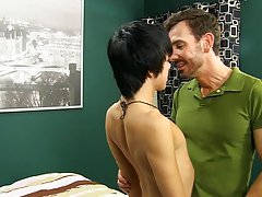 Pics of gay men french kissing on porn...
