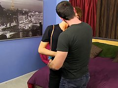 Gay blowjob loads of cum and gay...