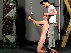 Roxy red twink bondage and he has a hairy...