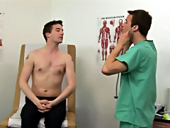 I told Dr. James to treat me as if I was a patient in my own office, he started off with regular diagnostics hairy male blowjobs