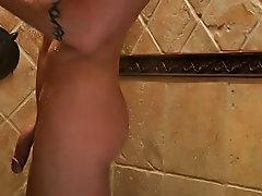 Cartoon wet penis gay and wet panties sagging with cum