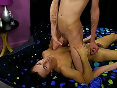 Old muscle fuck young gallery and young friends jack each other video