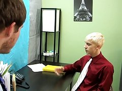 Tyler turns him over and shoots his sperm on his back gay twink boy photos at My Gay Boss