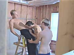 Gay nude groups and male group masturbation
