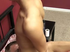 Big hairy hairy dicks in thongs and he fuck the cum out of him hands free at Boy Crush!