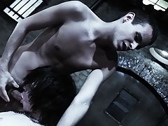 Groupsex gangbang orgy andnot gay and multiple men group sex - Gay Twinks Vampires Saga!