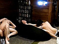 Gay first time story and gay twink cumshots - at Boy Feast!