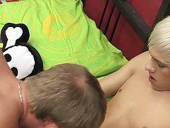 Pic old shemales fuck young boy and young teen twink blushes while fucked at Boy Crush!