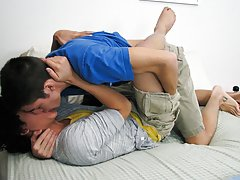 Hot guys getting a blowjob and blowjob...