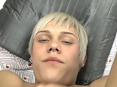 Twink cocks sticking out of underwear and...