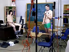 Hairless twinks cum in each others asses and cute twink in underpants pic at Teach Twinks