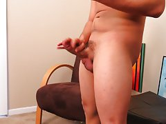 Young boy jerking off movie and college...