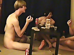 """ This is a lengthy video for you voyeur types who like the idea of watching those chaps get naked, drink, talk and play filthy games"