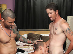 Wade services one as well as the other their cocks, including a bit of a face fuck from Alexsander gay anal porn hardcore at My Husband Is Gay