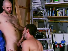 Gay young boys hardcore sex cumming swallowing cum and cute guys chilling naked at My Gay Boss