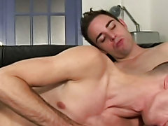 He certainly did get a mouthful from Skylar and Bernardo both gay hunk models