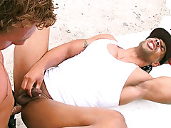 Flash a quick 400 bucks and suddenly he is like a kitten willing to purr for a treat free interracial gay ass sex