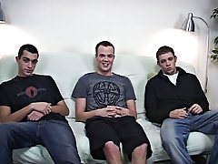 Gay muscle men group sex and group gay blowjob