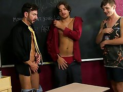 Twinks in mesh at Teach Twinks