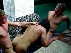Pictures of gay men using anal beads and gay double penetration galleries - Jizz Addiction!