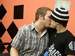 Cute young gays boys kissing and mexican...