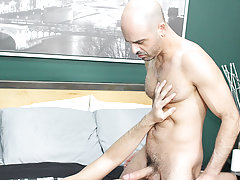 Nude young hairy male and gay hardcore...