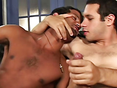 Thomas hooks up with Bernardo and Marick for some hot summer fucking action free gay hunk sex thumbs