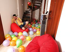 Lucky guy group sex and men sex pics groups at Crazy Party Boys