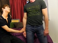 Mike gets on the bed and Kyler sits back on him, working Mike's weenie up his constricted hole guide to male anal sex at I'm Your Boy Toy