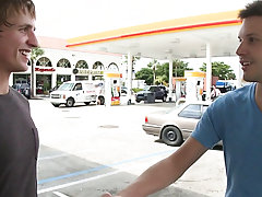 In this weeks out in public update...were off doing our thing me and the homie from california...so were hanging by the gas station and man that guy h