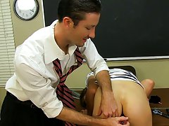 His teacher Danny Brooks suggests he try using a sex toy but Dean insists he needs help figuring out how his first black gay sex at Teach Twinks