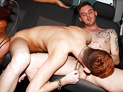 Gay group sex video trailer and fraternity...