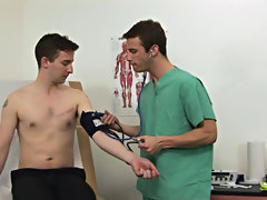 I said Dr. James to treat me as if I was a patient in my own office, this guy started off with regular diagnostics gay blowjob close
