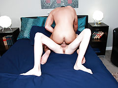 Gay blowjob in high heels and twinks porno long tube