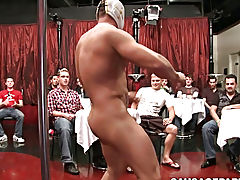 Gay master and slave hairy daddy and twink and indian group nude at Sausage Party