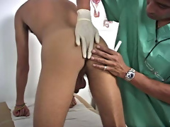 Today the clinic has Anthony scheduled in for an exam and Dr. Phingerphuck is on call to give him the most intriguing exam of his life first gay fuck