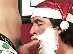 This time, it was Santa's turn to ask for presents, and he asked for the twink's cock deep in his pooper erotica of guys firs