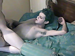 Real life boyfriends Nathan and Lucas came to us to fuck on camera for the first time first huge gay dick - at Boy Feast!