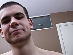 Seduced twink and nude masturbation boy
