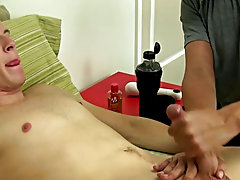 I wasn't mistaken Mr. Hand has Chase cumming hard for the 1st time during a jerk off session ever men masturbate in bathroom