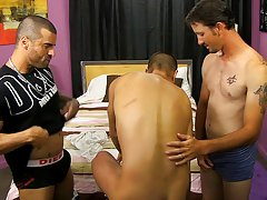 Anime twinks cumming and sexy muscular black men jacking off at My Husband Is Gay