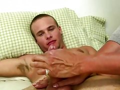 We work hard to turn this straight for pay guy into a full gay dude like us masturbation sex positio